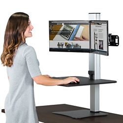 "Electric Dual Standing Desk - 28""W"