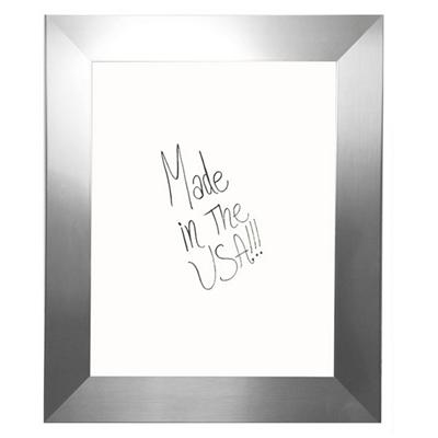 "36""W x 42""H Decorative Framed Whiteboard"