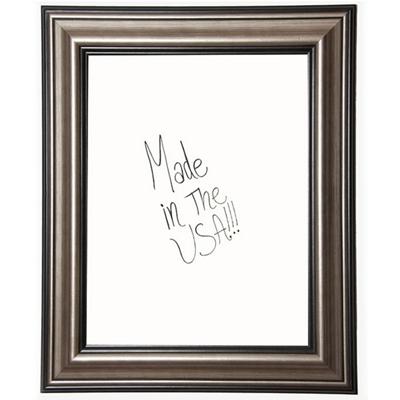 "24""W x 30""H Decorative Framed Whiteboard"