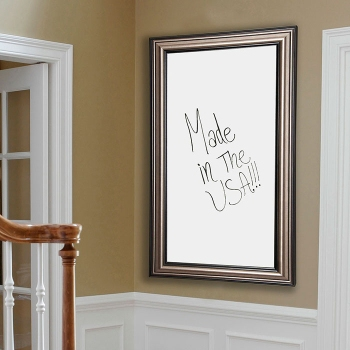 42w X 48h Decorative Framed Whiteboard 80586 And More Lifetime