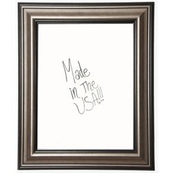 "24""W x 30""H Decorative Framed Whiteboard"