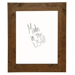 "24""W x 30""H Decorative Wood Framed Whiteboard"