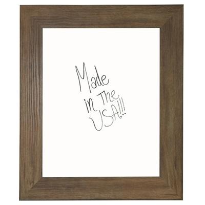 "36""W x 42""H Decorative Wood Framed Whiteboard"