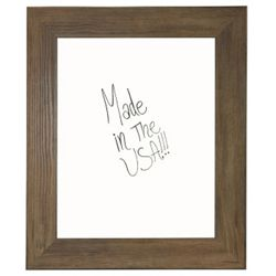 "36""W x 42""H Decorative Wood Framed Whiteboard"