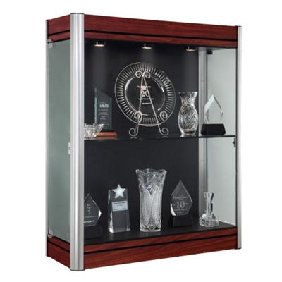 "36""W x 44""H Wall Mounted Display Case"