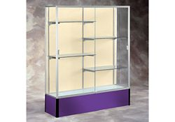 "60"" Wide Spirit Display Case with Fabric Back"