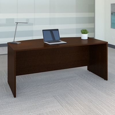 "72""W Bow front Desk Shell"