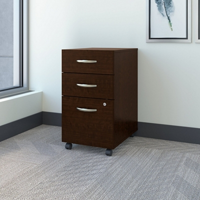 Assembled 3 Drawer Mobile Pedestal