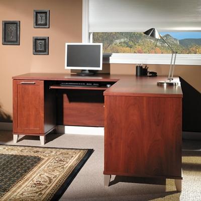 """71""""W -L Desk"""