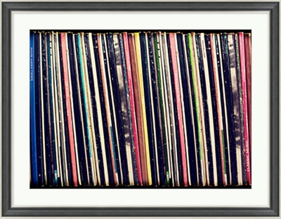 "Record Collection - 36""W x 28""H"