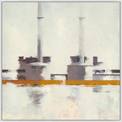 "Industrial Portrait - 44""W x 44""H"