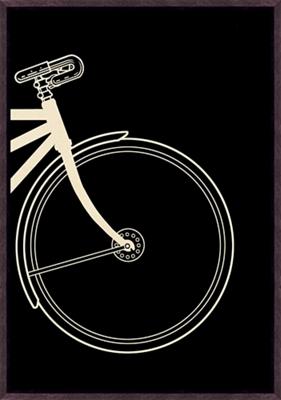 "Vintage Bike Right - 20""W x 28.5""H"