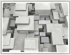 "Cubes - 36""W x 28""H"