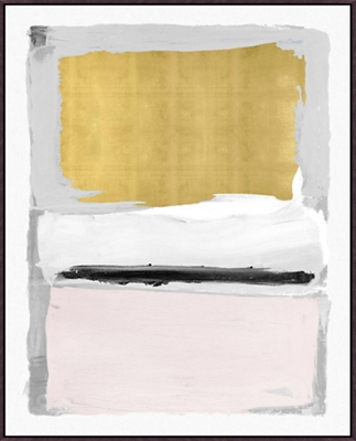 """Pink and Gold - 50""""W x 62""""H"""
