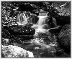 "Peaceful Mountain Stream - 34""W x 28""H"