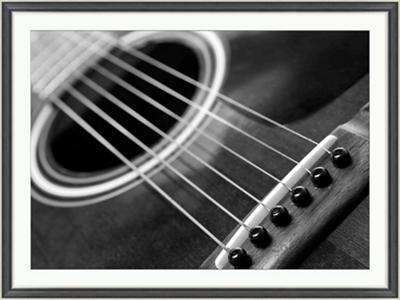 "Guitar - 48""W x 36""H"