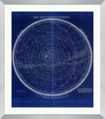 "Celestial Map - 30""W x 34""H"