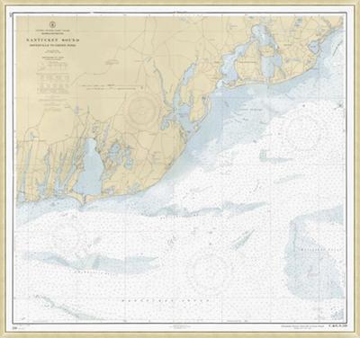"Massachusetts Nantucket Sound - 48""W x 45""H"