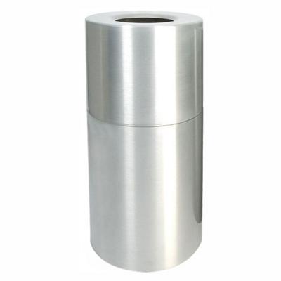 Aluminum Waste Receptacle - 24 Gallon Capacity