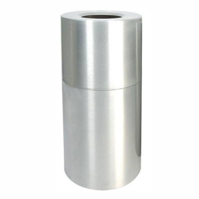 Aluminum Waste Receptacle - 35 Gallon Capacity