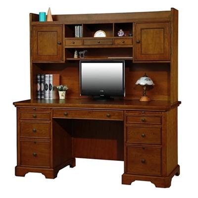 "Computer Desk with Hutch - 66""W"