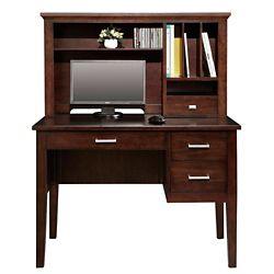 "Writing Desk with Hutch - 42""W"