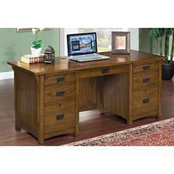 """Double Pedestal Desk 69""""W x 28""""D"""