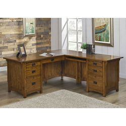 "L-Desk with Right Return 72""W x 76""D"