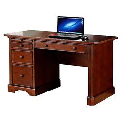 """Single Pedestal Writing Desk - 47""""W"""