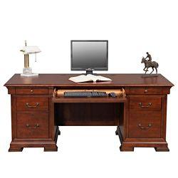 "Double Pedestal Desk - 72""W"