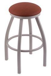 "Wood or Vinyl Stool - 36""H Swivel Seat"