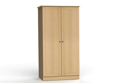 """Two Door Wardrobe Cabinet - 72""""H"""