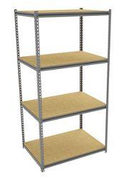 """Four Shelf Storage Rack - 42""""W x 30""""D"""