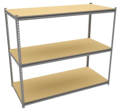 """Three Shelf Storage Rack - 69""""W x 30""""D"""