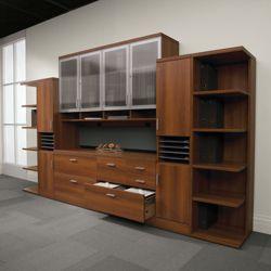 "Complete Storage Wall - 114""W x 20""D"