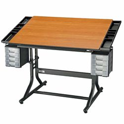Height Adjustable Deluxe Drafting Table