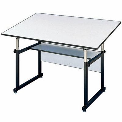 48 X 36 Adjustable Height Drafting Table   70200 And More Lifetime Guarantee