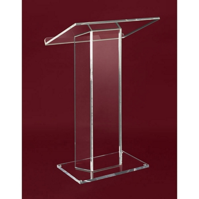 Large Top Acrylic Lectern