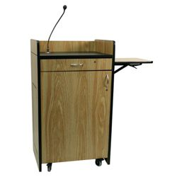 Mobile Podium with Sound