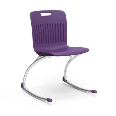 Plastic Shell Rocking Student Chair