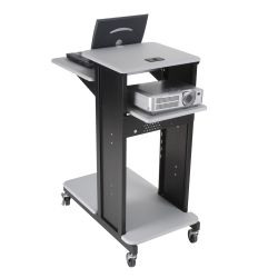 Small Mobile Presentation Cart
