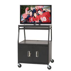 Wide-Body Flat Panel TV Cart