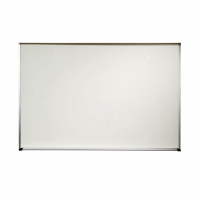 4' x 4' Aluminum Frame Porcelain Whiteboard