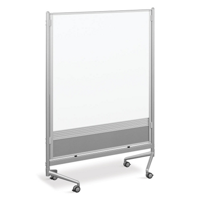 4'W x 6'H Dual Sided Mobile Whiteboard