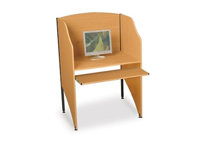 Laminate Study Carrel