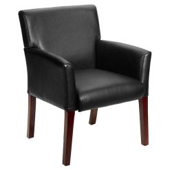 Modern Guest Chair with Extra Wide Seat