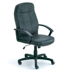 High-Back Bonded Leather Executive Chair