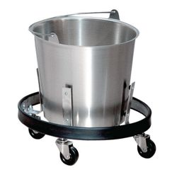 Stainless Steel Kick Bucket with Frame