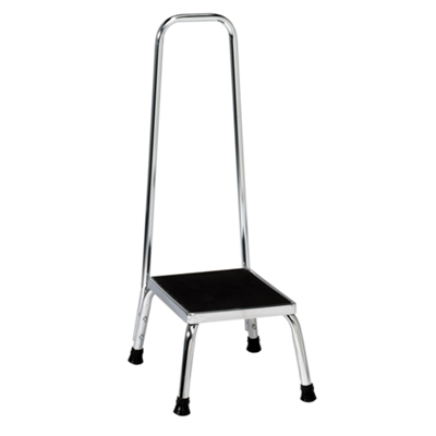 350 lb. Step Stool with Handrail