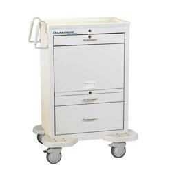 3 Drawer Medication Cart